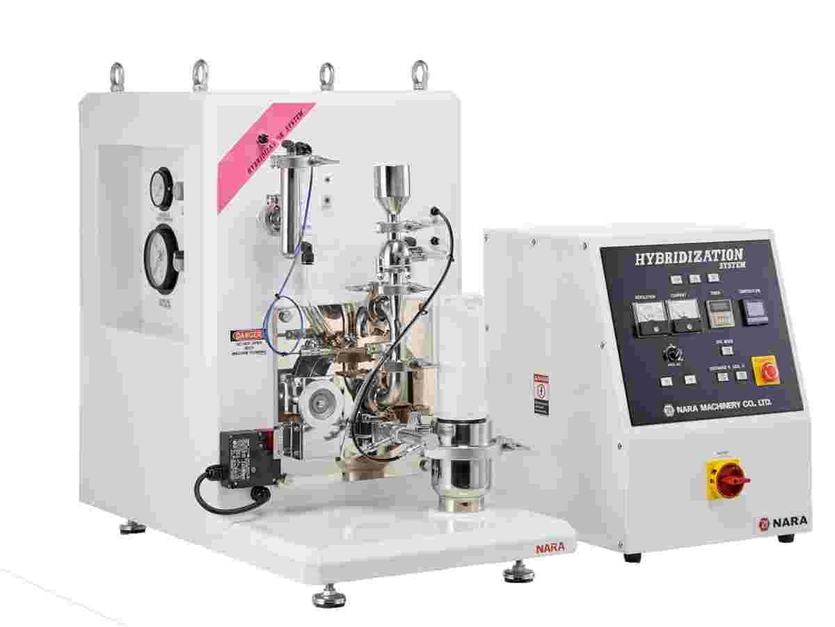 Technology for embedding, penetrating, coating or rounding of fine powder